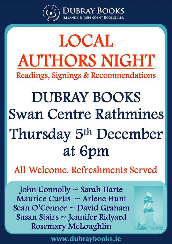 Local Authors Night